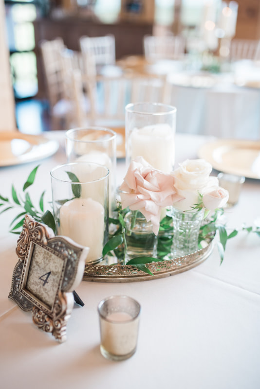 Table Decor | The Magnolia Venue | Pigeon Forge, TN | Margaret Claire Weddings and Events | Leah Nicole Photography