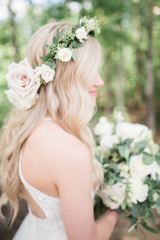 Bride Portrait | The Magnolia Venue | Pigeon Forge, TN | Margaret Claire Weddings and Events | Leah Nicole Photography