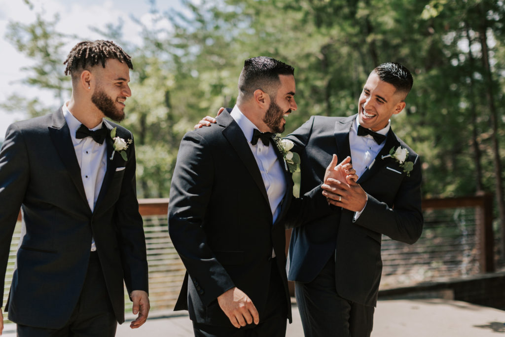 Groomsmen | The Magnolia Venue | The Smoky Mountains | Photography by Miss Riss Photography