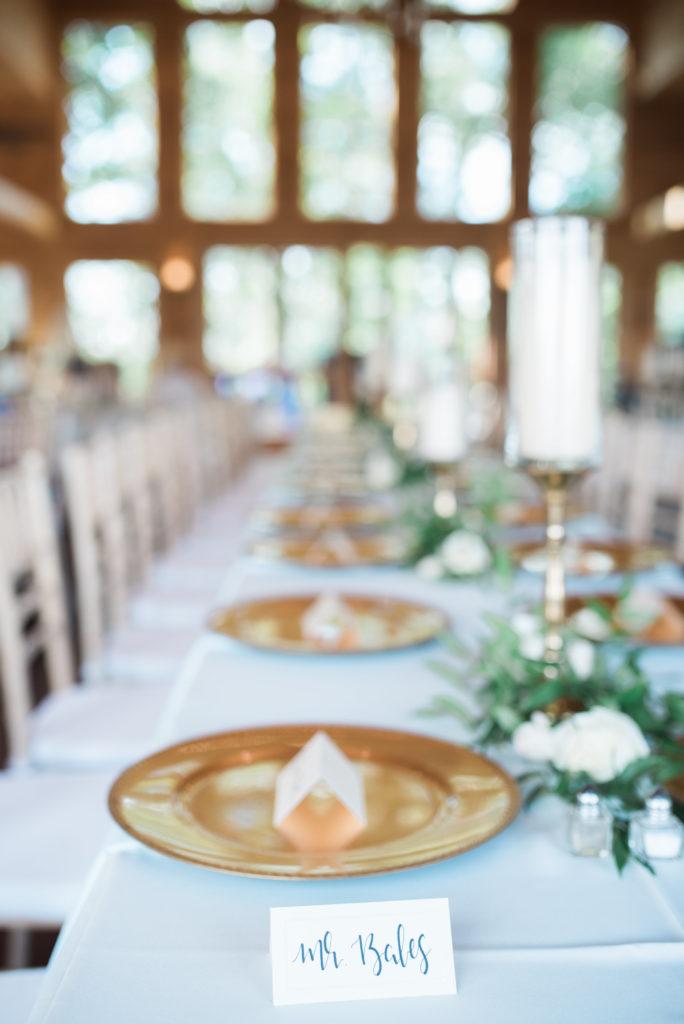 The Magnolia Venue | Table Decor | Margaret Claire Weddings & Events | Leah Nicole Photography