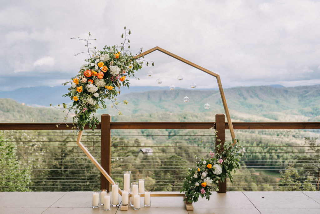 Ceremony Arbor | Decor | Elite Planning | The Magnolia Venue | Derek Halkett Photography
