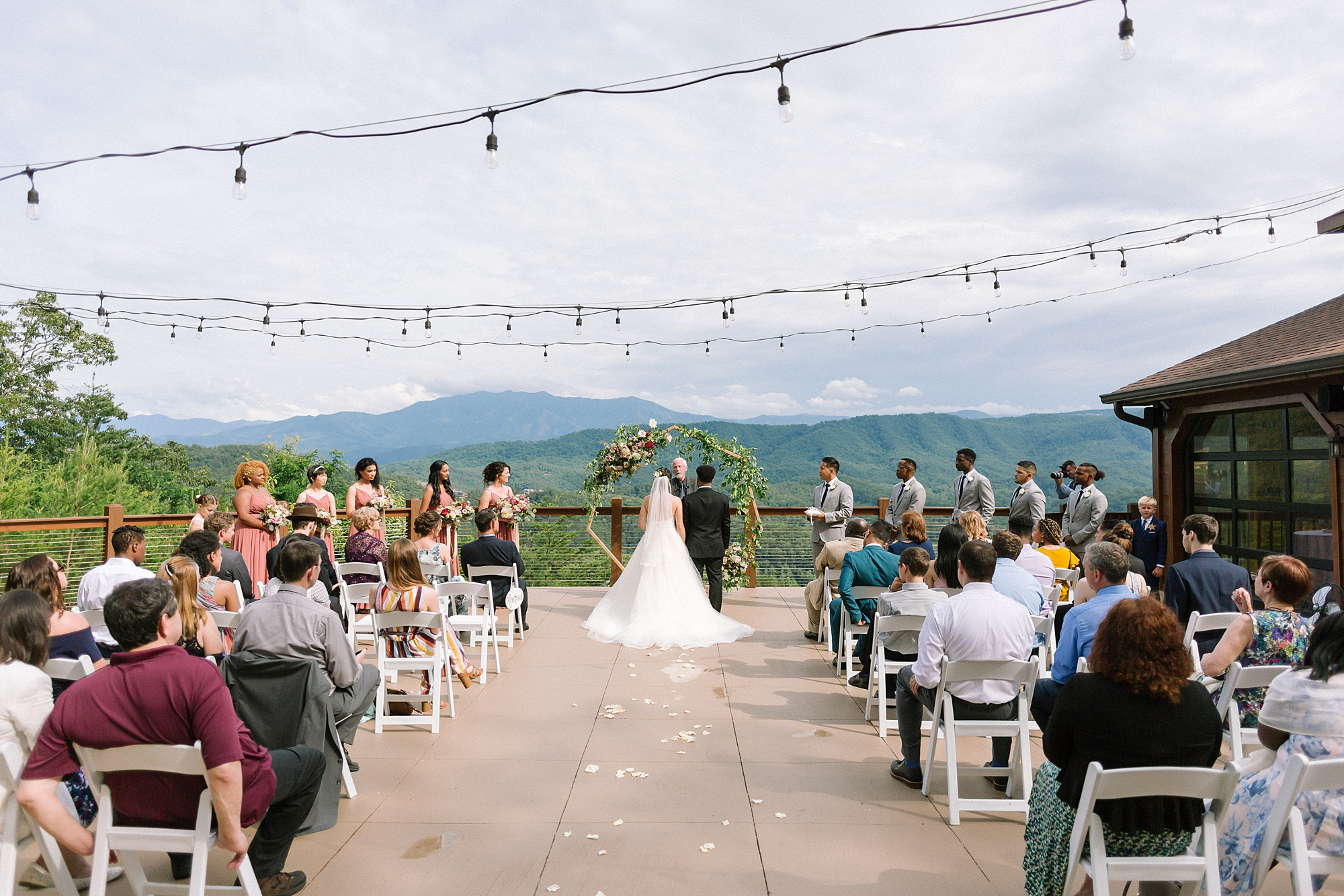 Simply Sweet Mountaintop Affair at The Magnolia Wedding Venue in Pigeon Forge, TN