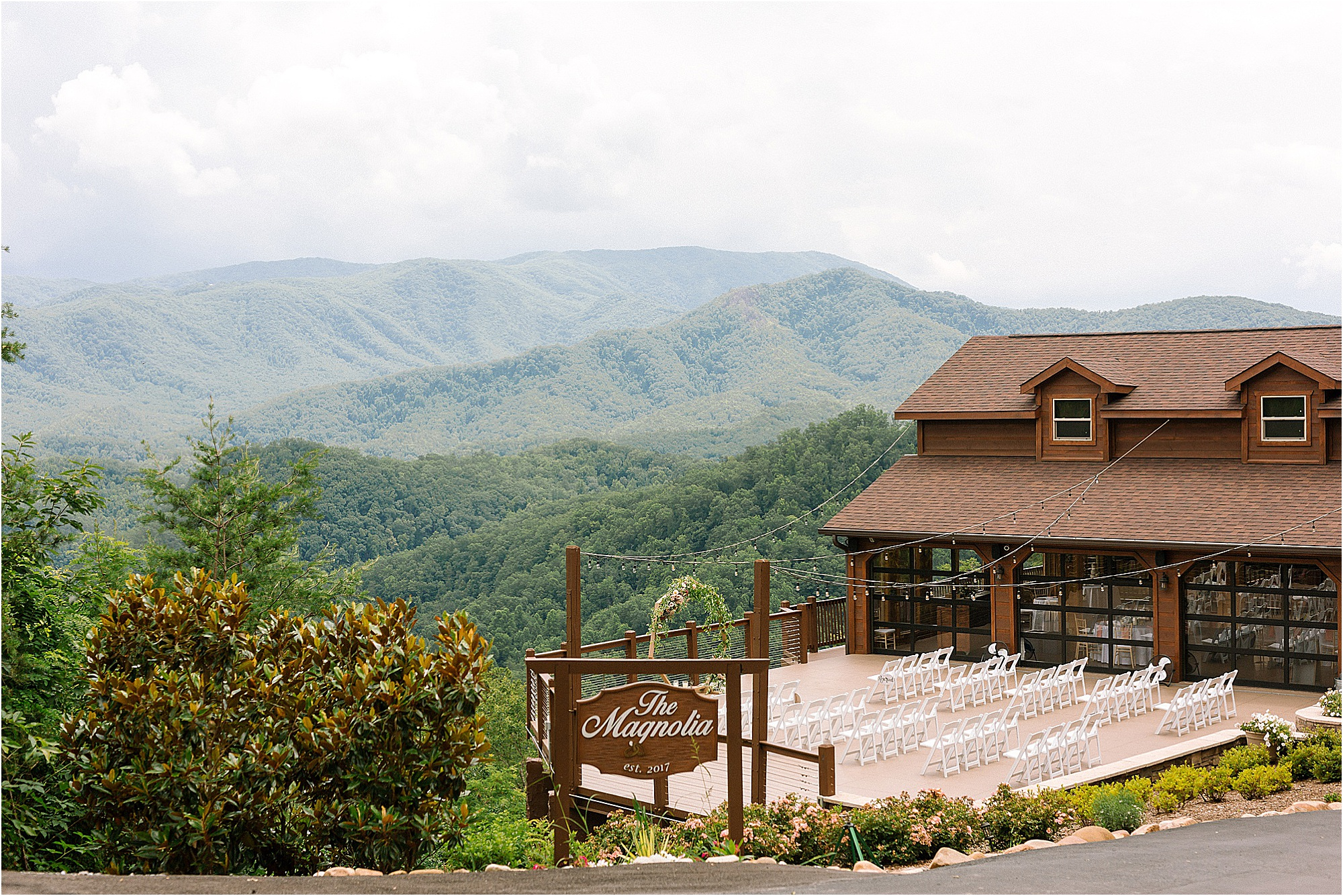 The Magnolia Wedding Venue in Pigeon Forge, Tennessee