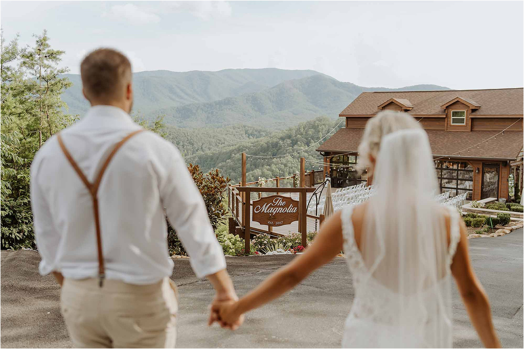 Summer Wedding at The Magnolia Venue in Pigeon Forge, Tennessee