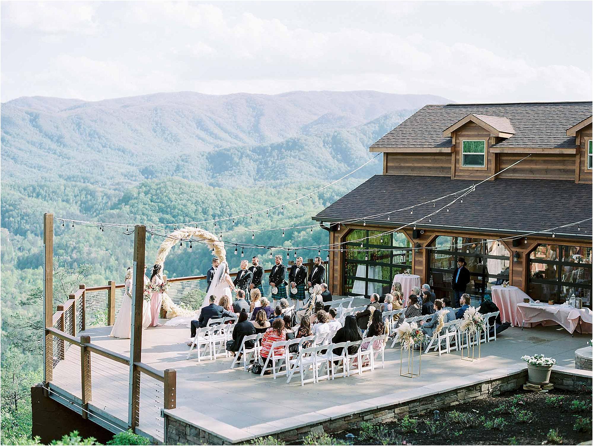 Scottish Wedding Ceremony at The Magnolia Venue
