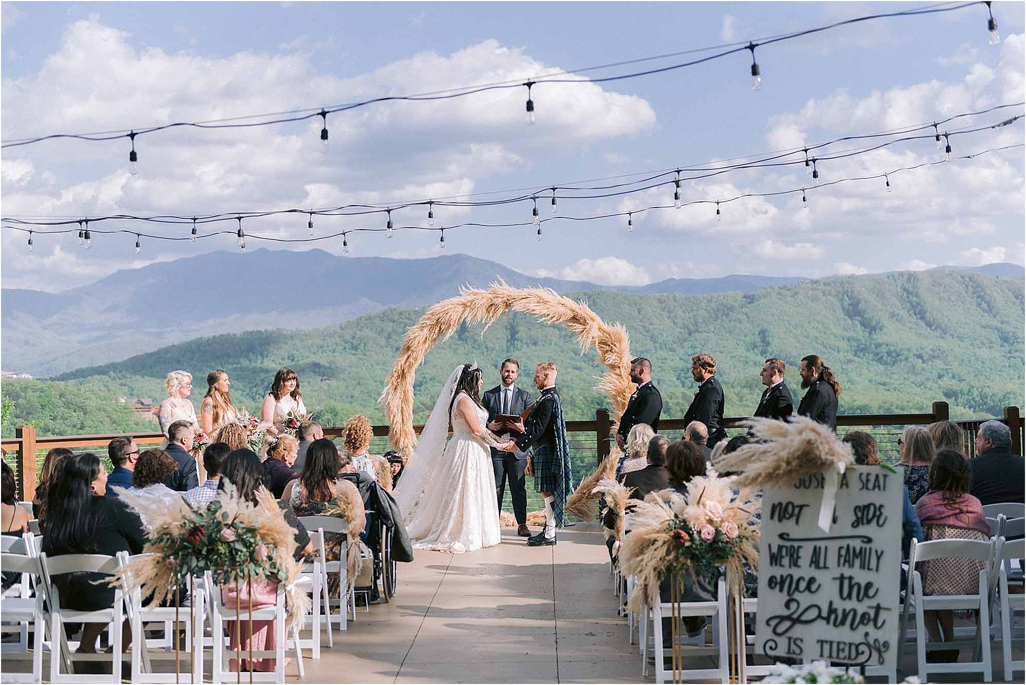 Scottish Wedding in the Tennessee Mountains