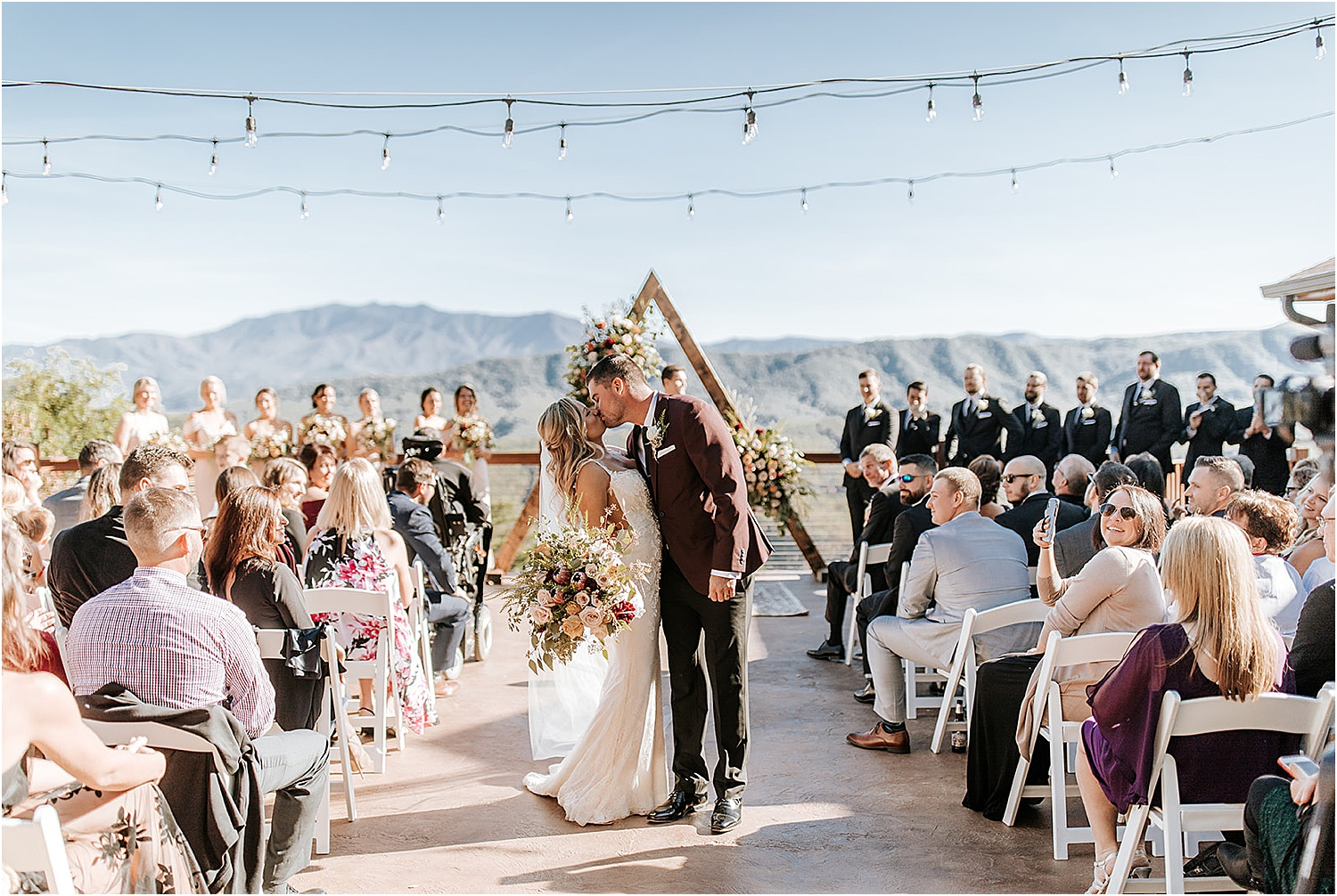 Sun-Kissed Wedding with Earthy Boho Vibes