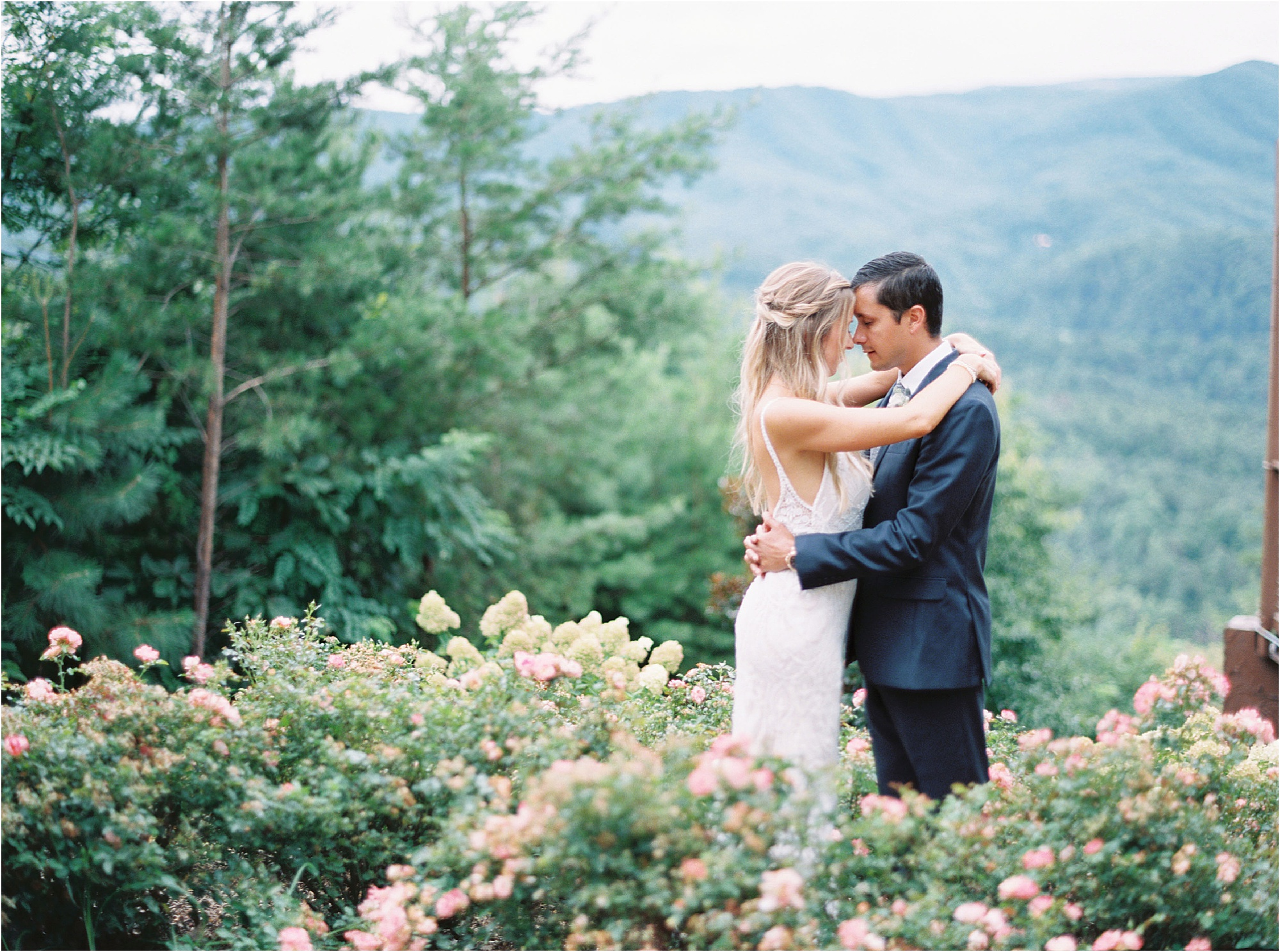 Charming Wedding with an Ethereal Color Palette
