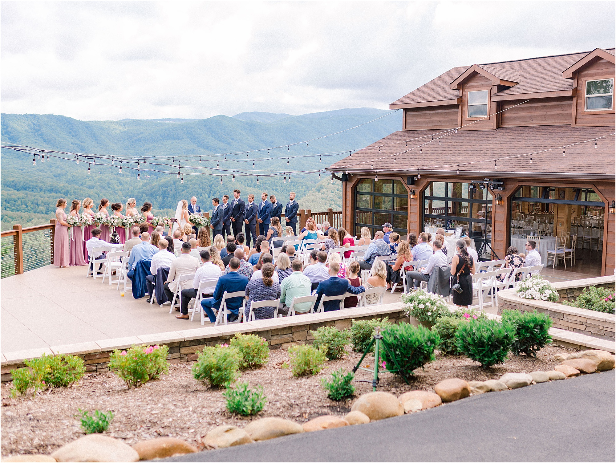 wedding ceremony at The Magnolia Venue in Tennessee