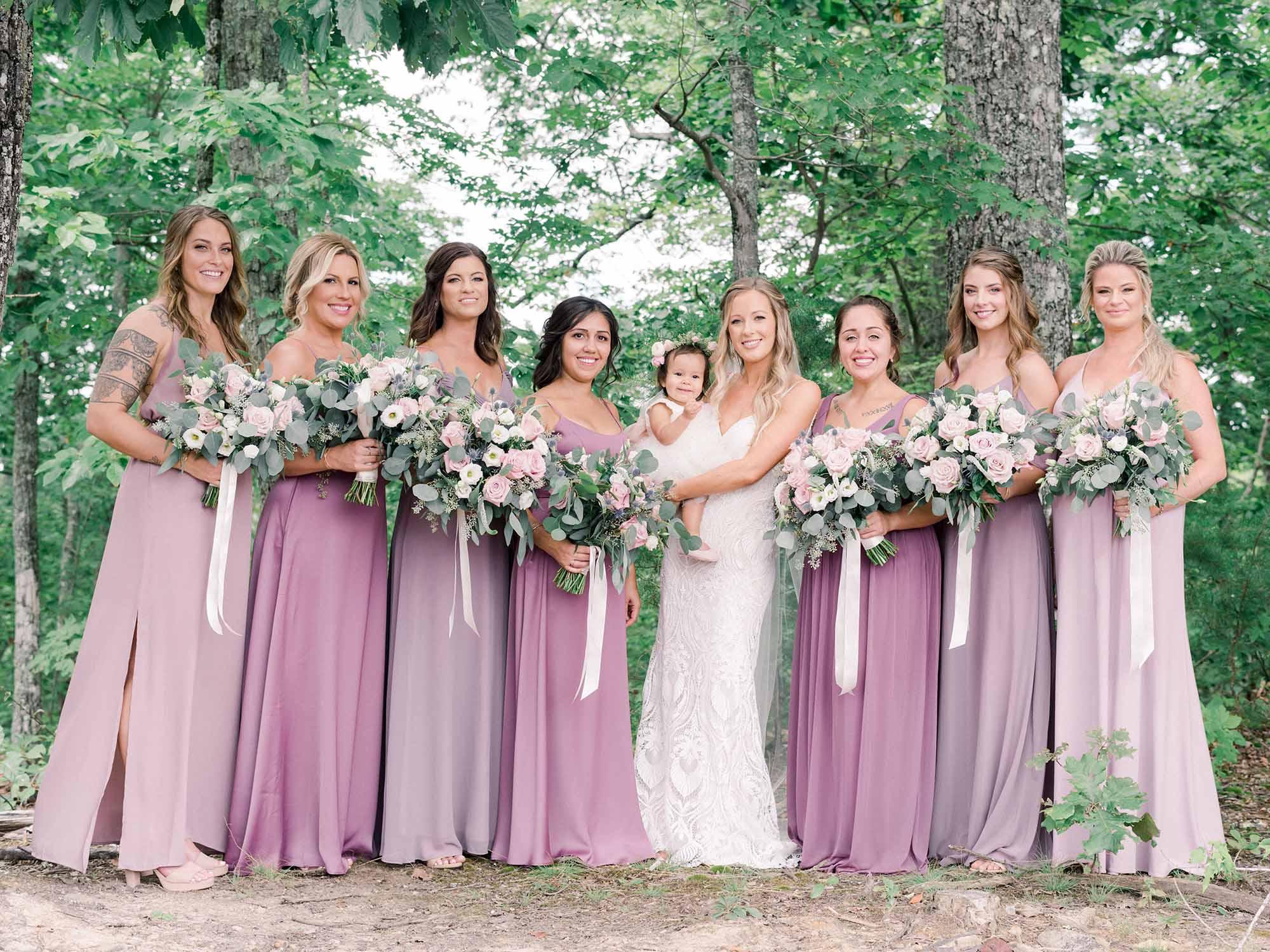 Top Photos with Bridesmaids