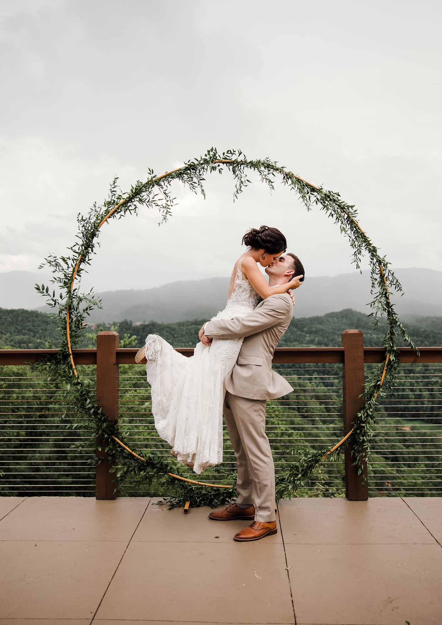 Echelon Florist at The Magnolia Wedding Venue in Pigeon Forge, Tennessee
