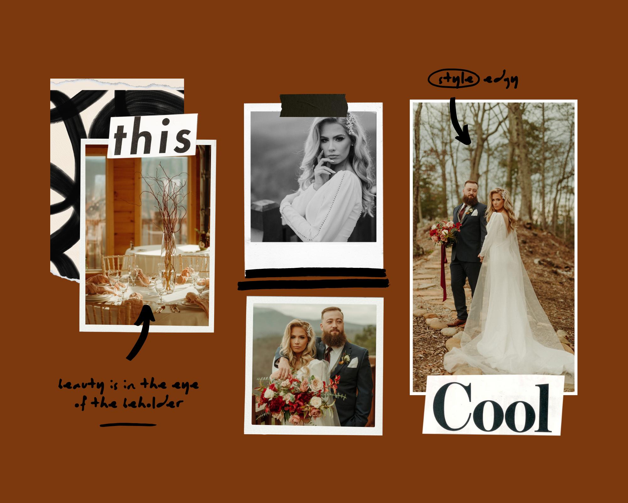 Edgy Wedding Style