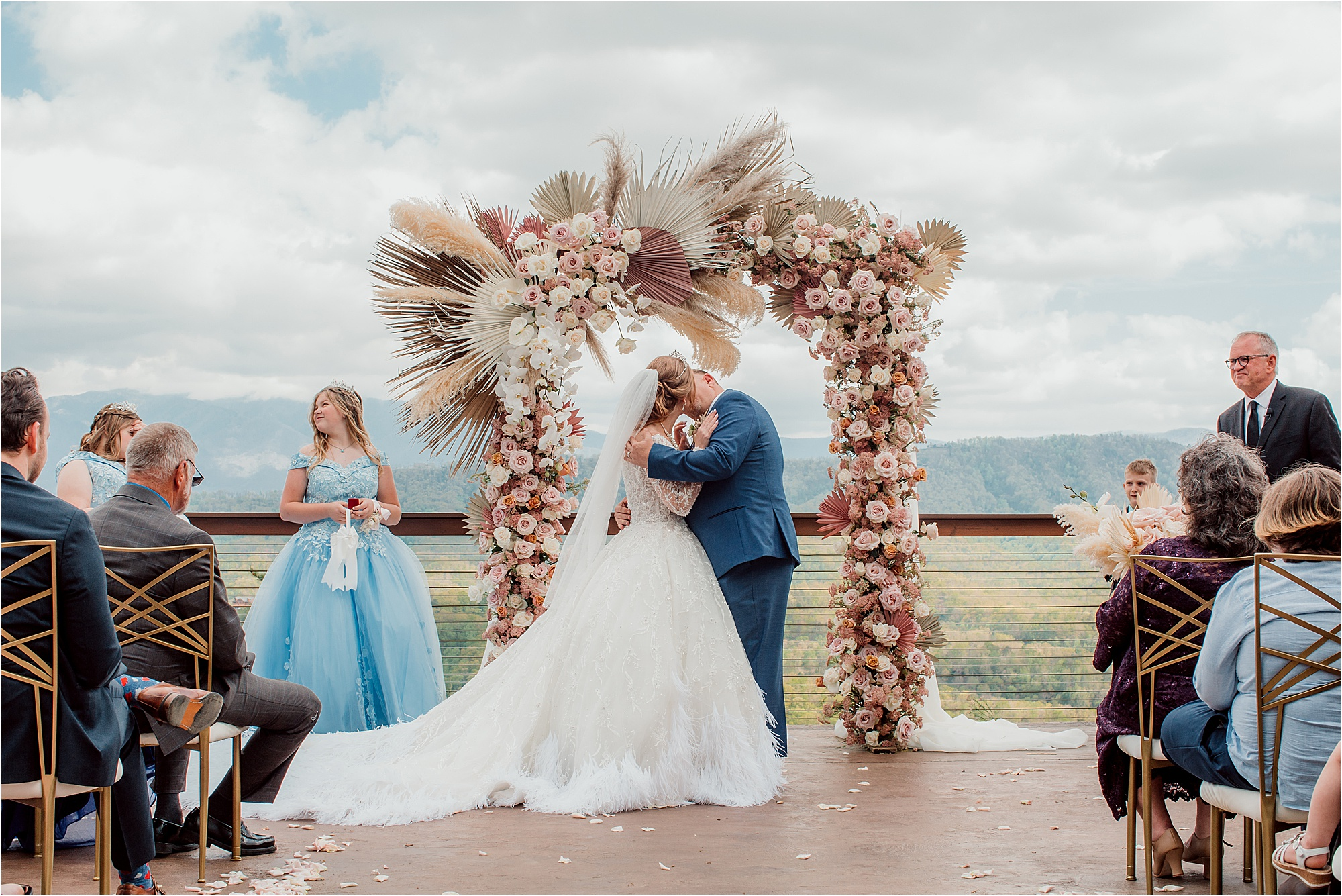 Fairytale Wedding with Magical Floral Arbor