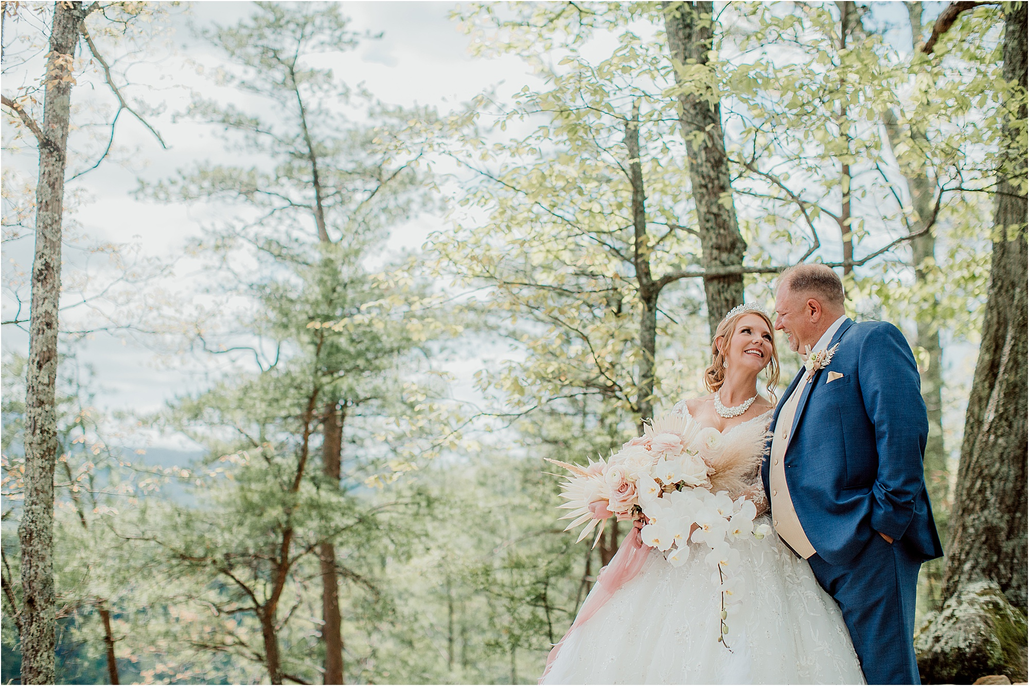 Fairytale wedding in the Smoky Mountains