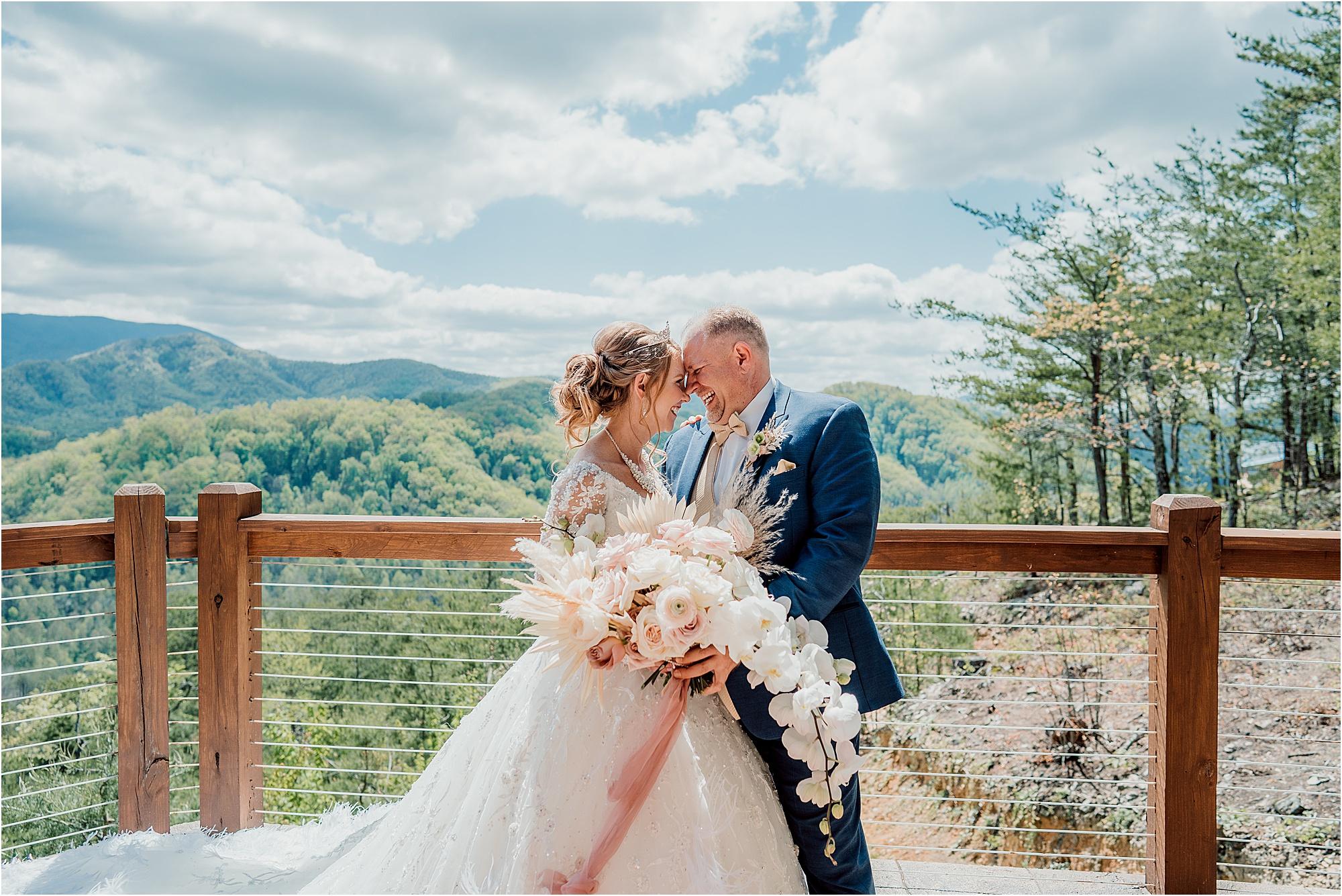 bride and groom photos at The Magnolia Venue
