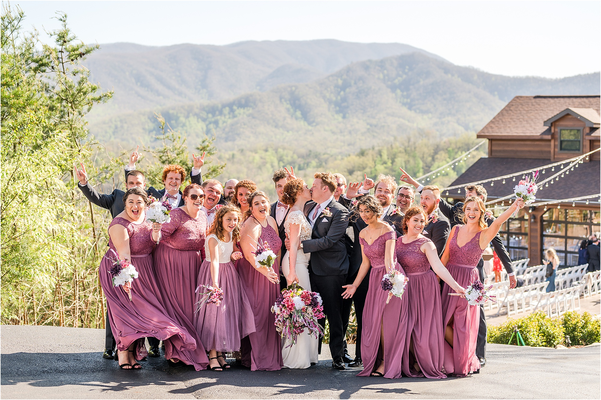 Fun, Vibrant, Eclectic Wedding in the Mountains