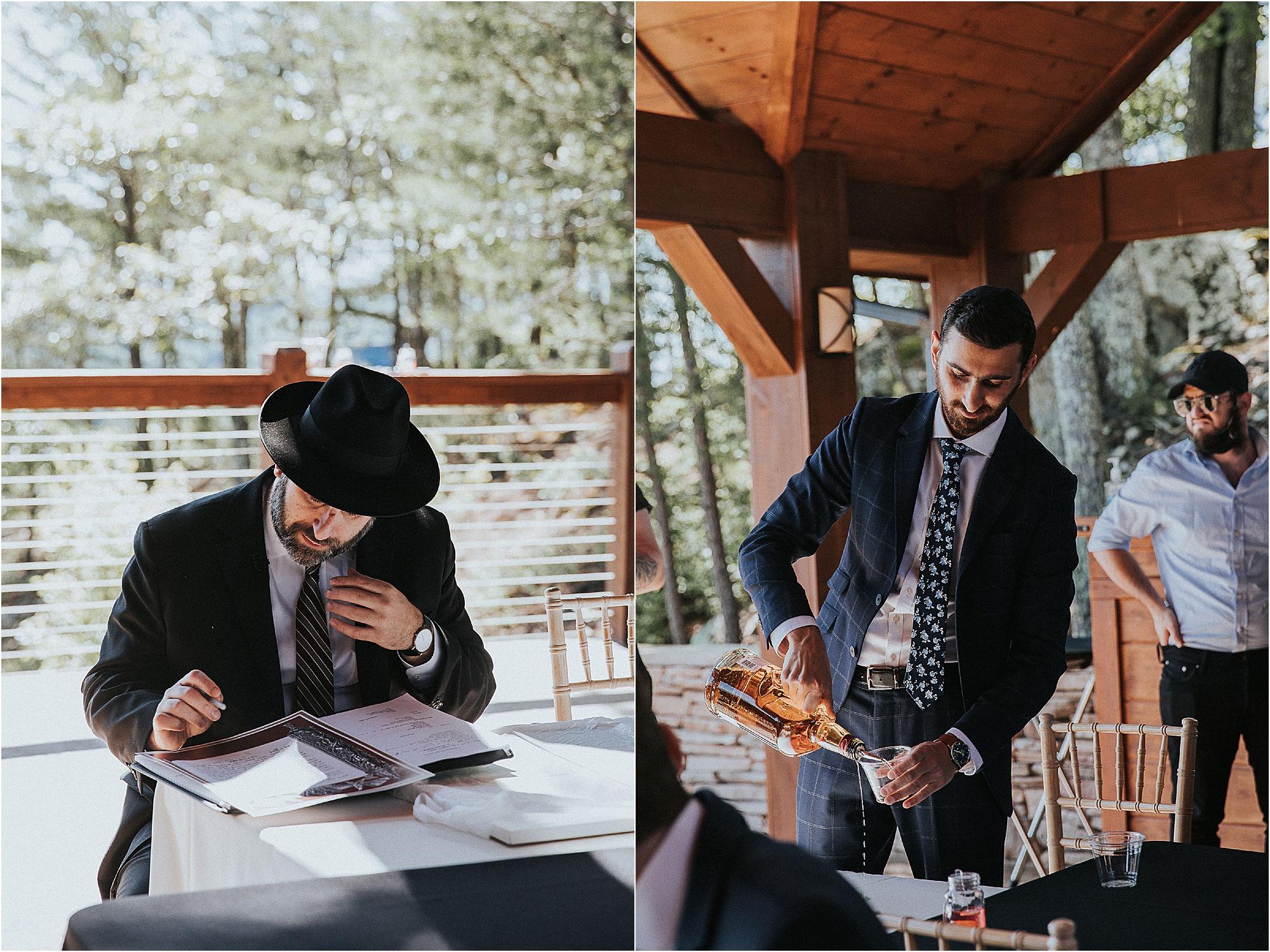 The Ketubah Signing at wedding